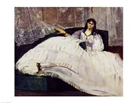 Portrait of Jeanne Duval, 1862 by Edouard Manet, 1862 - various sizes