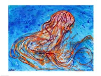 Abstract Jellyfish Fine Art Print