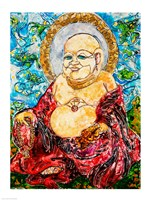 Enlightened Buddha by Natalie Talocci - various sizes