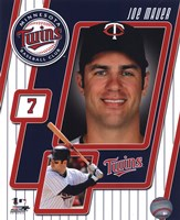 "8"" x 10"" Joe Mauer Pictures"