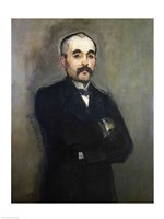 Portrait of Georges Clemenceau Fine Art Print