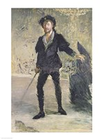 Jean-Baptiste Faure in the Opera 'Hamlet' by Ambroise Thomas by Edouard Manet - various sizes
