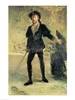 Jean Baptiste Faure by Edouard Manet - various sizes