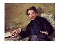 Stephane Mallarme by Edouard Manet - various sizes, FulcrumGallery.com brand
