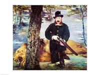 Pertuiset, Lion Hunter, 1881 by Edouard Manet, 1881 - various sizes, FulcrumGallery.com brand