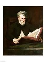 The Reader, c.1861 Fine Art Print