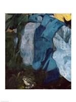 Dejeuner sur l'Herbe, 1863 (blue cloth detail) Fine Art Print