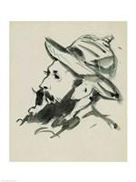 Head of a Man Fine Art Print