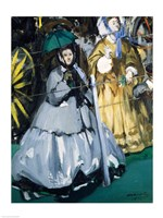 Women at the Races, 1865 by Edouard Manet, 1865 - various sizes