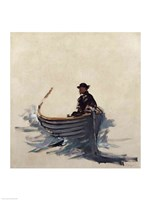 Study for The Escape of Rochefort, 1881 Fine Art Print