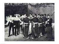 The Execution of Maximilian, 1868 by Edouard Manet, 1868 - various sizes