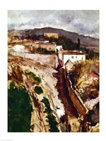 Oloron-Sainte-Marie, 1871 by Edouard Manet, 1871 - various sizes, FulcrumGallery.com brand