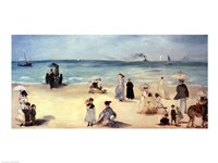 Beach Scene by Edouard Manet - various sizes