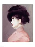 La Viennoise: Portrait of Irma Brunner, c.1880 Fine Art Print