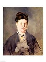 Portrait of Madame Manet by Edouard Manet - various sizes