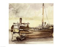 The Barge by Edouard Manet - various sizes, FulcrumGallery.com brand