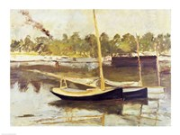 Study of a boat at Argenteuil, 1874 by Edouard Manet, 1874 - various sizes, FulcrumGallery.com brand