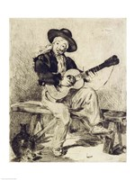 The Guitarist by Edouard Manet - various sizes