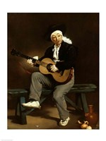 The Spanish Singer, 1860 Fine Art Print