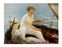 Boating, 1874 Fine Art Print