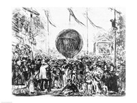 The Balloon, 1862 Fine Art Print