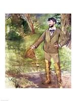 Portrait of Emile-Auguste Carolus-Duran by Edouard Manet - various sizes