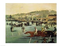 Horse Racing, 1872 by Edouard Manet, 1872 - various sizes