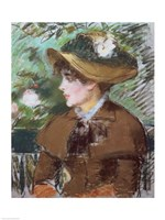 On the Bench, 1879 Fine Art Print