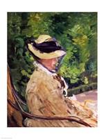 Madame Manet at Bellevue Fine Art Print