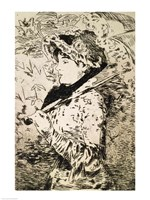 Spring by Edouard Manet - various sizes