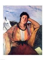 Gypsy with a Cigarette Fine Art Print
