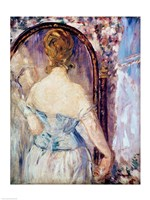 Woman Before a Mirror Fine Art Print