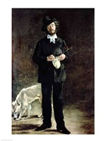 Portrait of Gilbert Marcellin Desboutin, 1875 by Edouard Manet, 1875 - various sizes