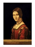 Portrait of a Lady from the Court of Milan Fine Art Print