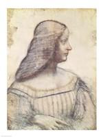 Portrait of Isabella d'Este Fine Art Print