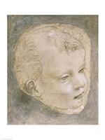 Head of a Child by Leonardo Da Vinci - various sizes