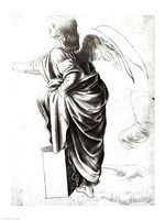Study of an Angel Fine Art Print