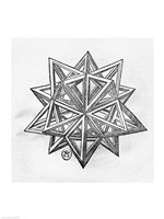 Dodecahedron Fine Art Print