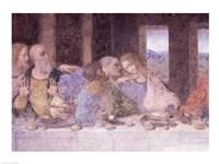 The Last Supper, (post restoration) C Fine Art Print