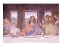The Last Supper, (post restoration) D Fine Art Print