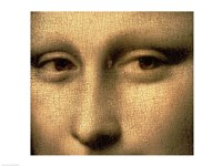 Mona Lisa, Face Detail Fine Art Print