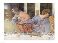 The Last Supper, Detail by Leonardo Da Vinci - various sizes