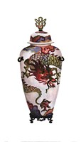 Dragon Vase Fine Art Print