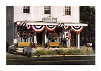 "Brewster Store by Chuck Huddleston - 34"" x 24"""