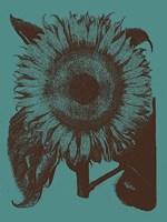 "Sunflower 5 - 30"" x 40"", FulcrumGallery.com brand"
