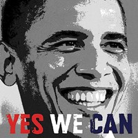 Barack Obama: Yes We Can Fine Art Print