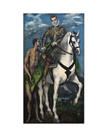Saint Martin and the Begger 1597-99 Fine Art Print