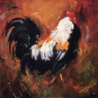 Rooster #503 Fine Art Print