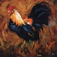 Rooster #502 Fine Art Print
