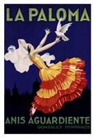 La Paloma Fine Art Print